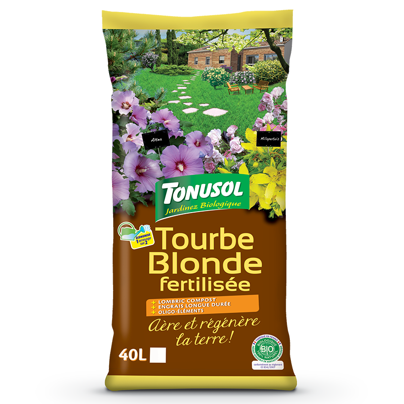 Organic Fertilized White Peat