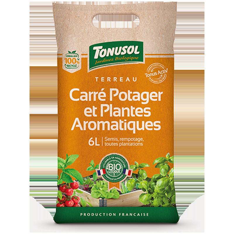 Organic Vegetable Garden...