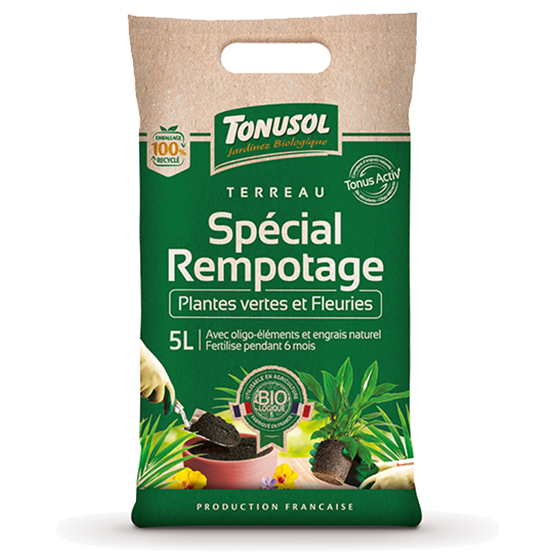 Organic Repotting Compost